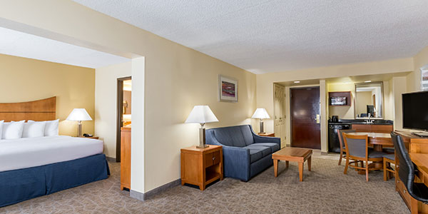 King Suite Room of Wingate by Wyndham Universal Studios & Convention Center