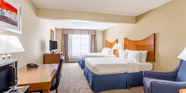 Two Queen Beds in Wingate by Wyndham Universal Studios & Convention Center